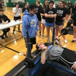 Pilot powerlifters set several records