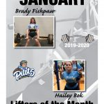 Fishpaw, Bok named powerlifters of the month