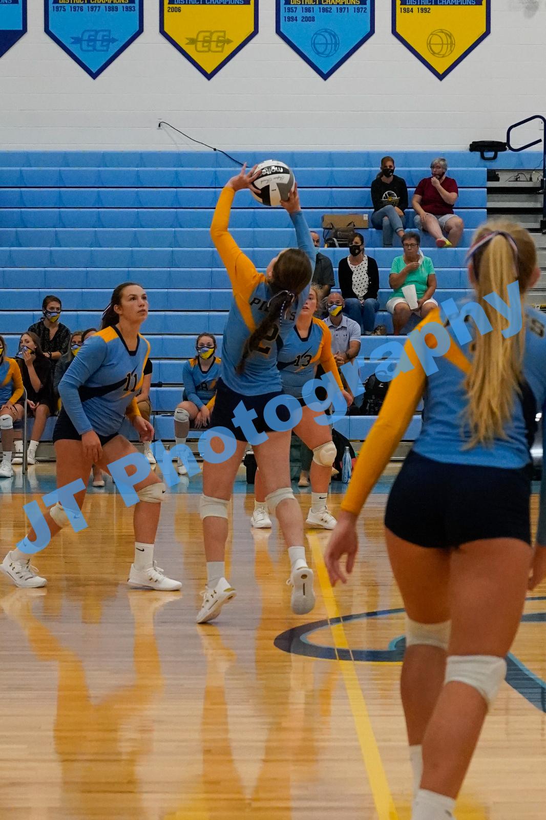 JV Volleyball vs Edgerton 2020