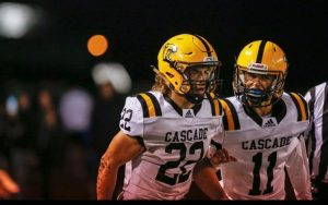 Cascade vs Stayton Football