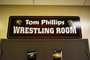 Wrestling Room Dedication Ceremony