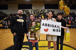 Senior Night – 2020 Girls Basketball