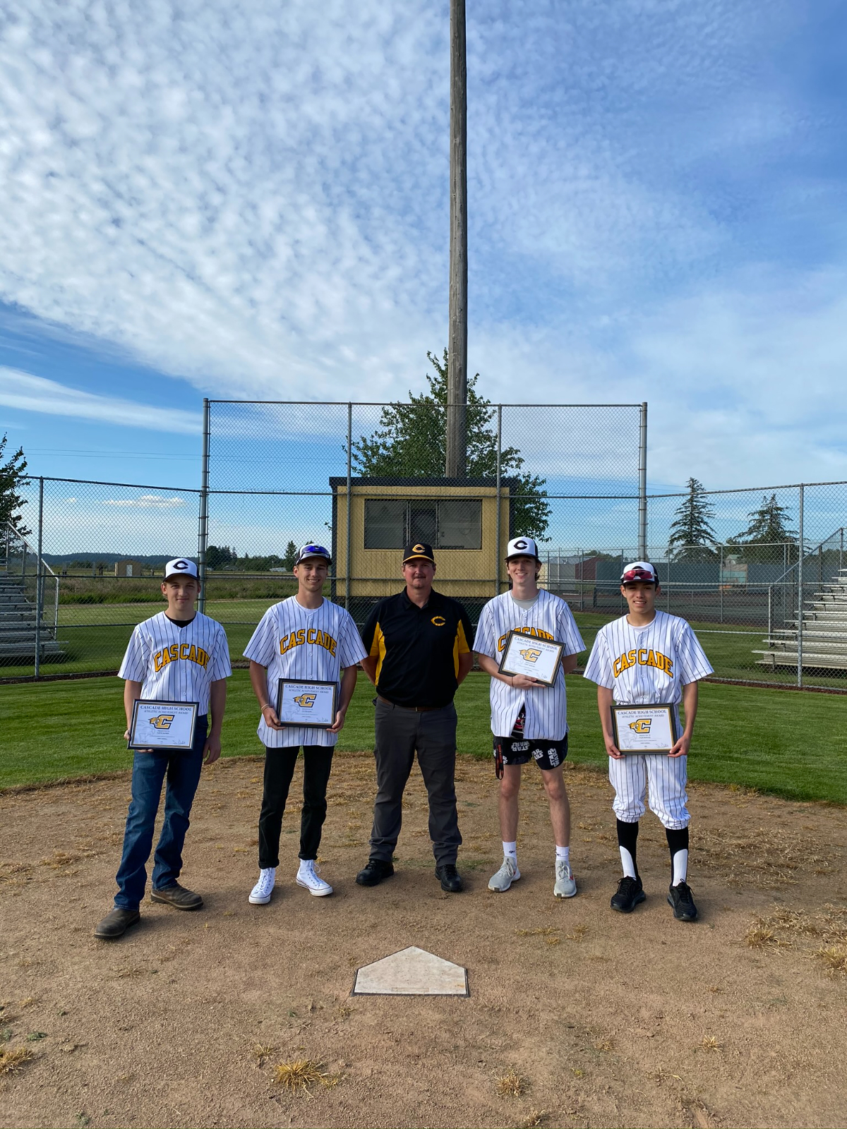 2020 Baseball – Senior Night