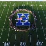 Heritage Varsity Football first game of the season!