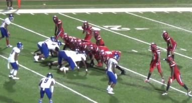 Despite grand efforts and amazing plays, Heritage fell to Rockdale Friday 9/13 0-16