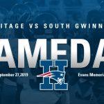Heritage vs South Gwinnett Week 5