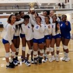 Girls Varsity Volleyball beats Rockdale County 2 – 0