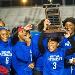 Heritage Girls Flag Football Defeated Salem 33-0 to Win First Inaugural Conyers Cup