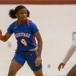 Goshay's strong second half propels Heritage to first win of season against Salem
