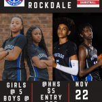 Heritage will host cross-county rival Rockdale Friday Nov. 22 in a Black out!