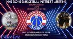 Boys Basketball Interest Meeting Oct 5th!
