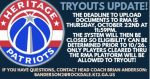 Boys Basketball Tryouts Update!