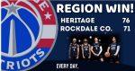 Patriots Defeat Rockdale On Road