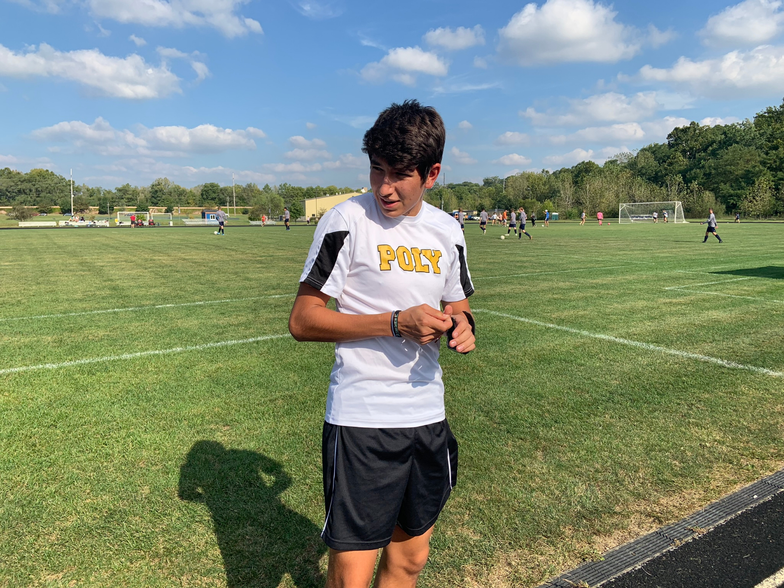 Interview w/ Soccer Team captain Adrian