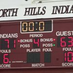 North Hills Senior High School Boys Varsity Basketball beat North Allegheny Senior High School 71-63