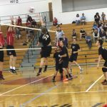 Boys' Volleyball Defeats Moon 3-0!