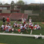 North Hills Senior High School Boys Varsity Lacrosse beat Trinity Senior High School 10-8