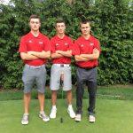 North Hills Senior High School Boys Varsity Golf beat Shaler Area High School 210-218