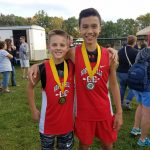 North Hills Boys Middle School Cross Country finishes 4th place