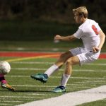 North Hills High School Boys Varsity Soccer falls to Hempfield Area High School 2-0
