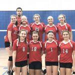 North Hills Girls 8th Grade Volleyball wins Silver Bracket at Shaler Tournament