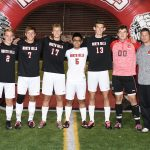 North Hills High School Boys Varsity Soccer beat vs Shady Side Academy 2-1