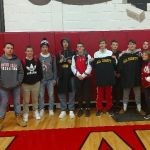 Wrestling Team Picture at Allegheny Co Tournament