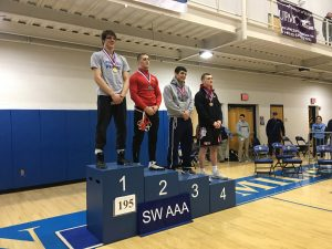 Nate on medal stand