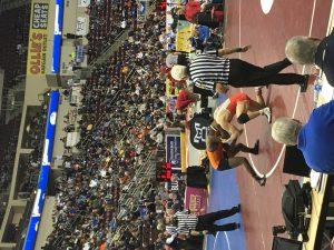 Mankey in Quarter final match