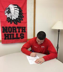 Drew signing