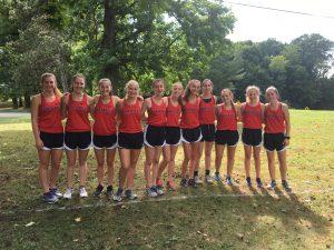Girls' CC Team
