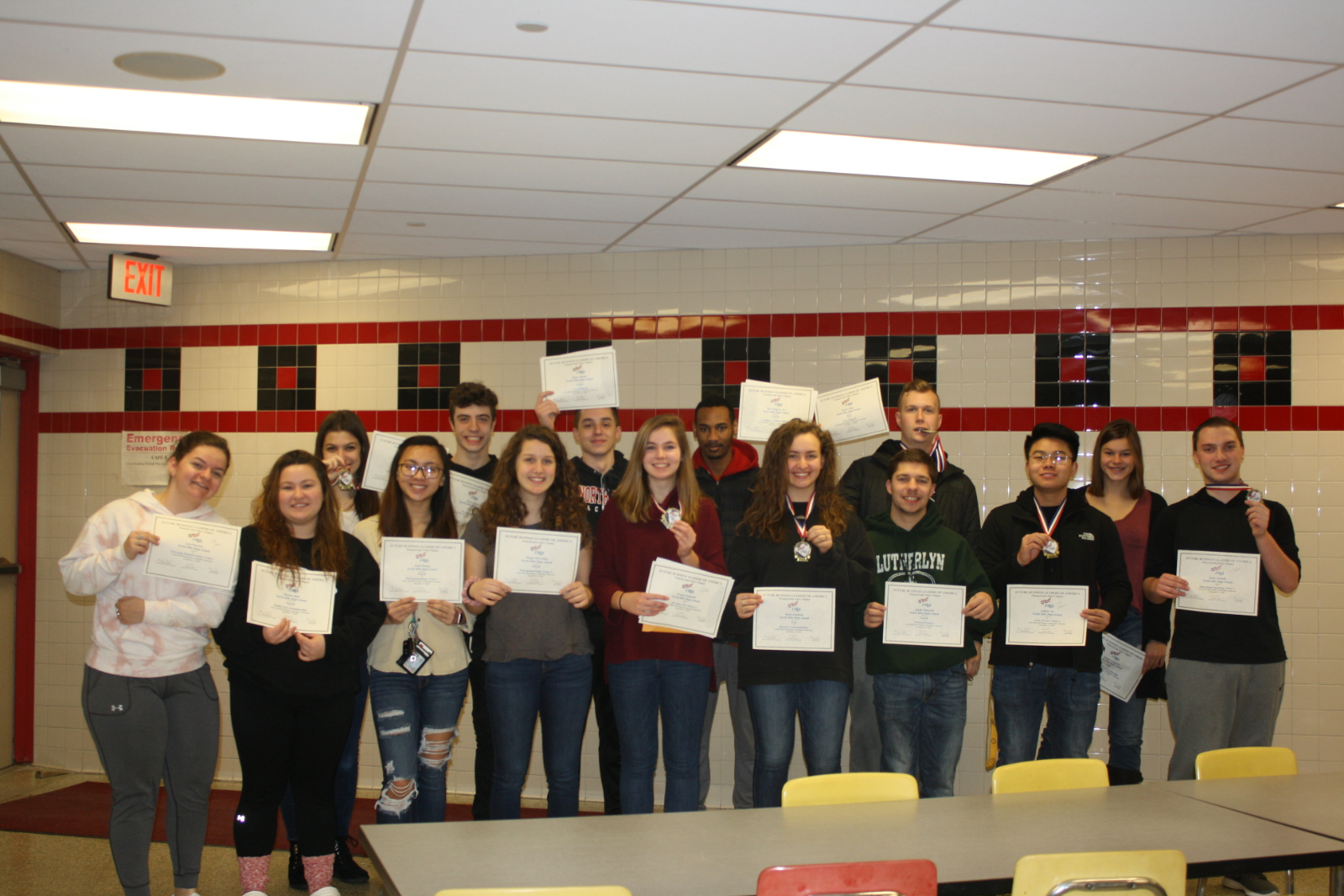 NH FBLA Students Advance to 2019 State FBLA Competition