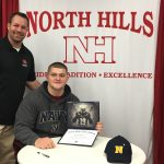 Lirion Murtezi signs with the Naval Academy!