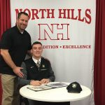 Tyler Brennan signs with US Military Academy, West Point!