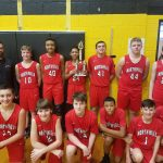 Boys 7th Grade Basketball beats Fox Chapel 43 – 31 to win NA-Gold Tournament