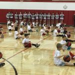 Little Dribblers show their skills!