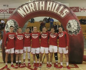Boys' Basketball Senior Night Photos