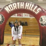 Girls' Basketball Senior Night photos