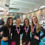 NH Girls' Break School Record in 200Free Relay!