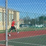 Pictures from Boys' Tennis Match