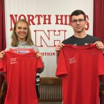 Congratulations to the April Athletes of the Month!