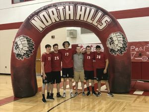 Boys Volleyball Senior Night