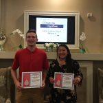 Congratulations Brandon and Natalie on NADA Tri-Athlete Award!