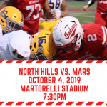 North Hills vs. Mars Broadcasted Live on Trib HSSN