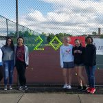 Girls Tennis Senior Day!