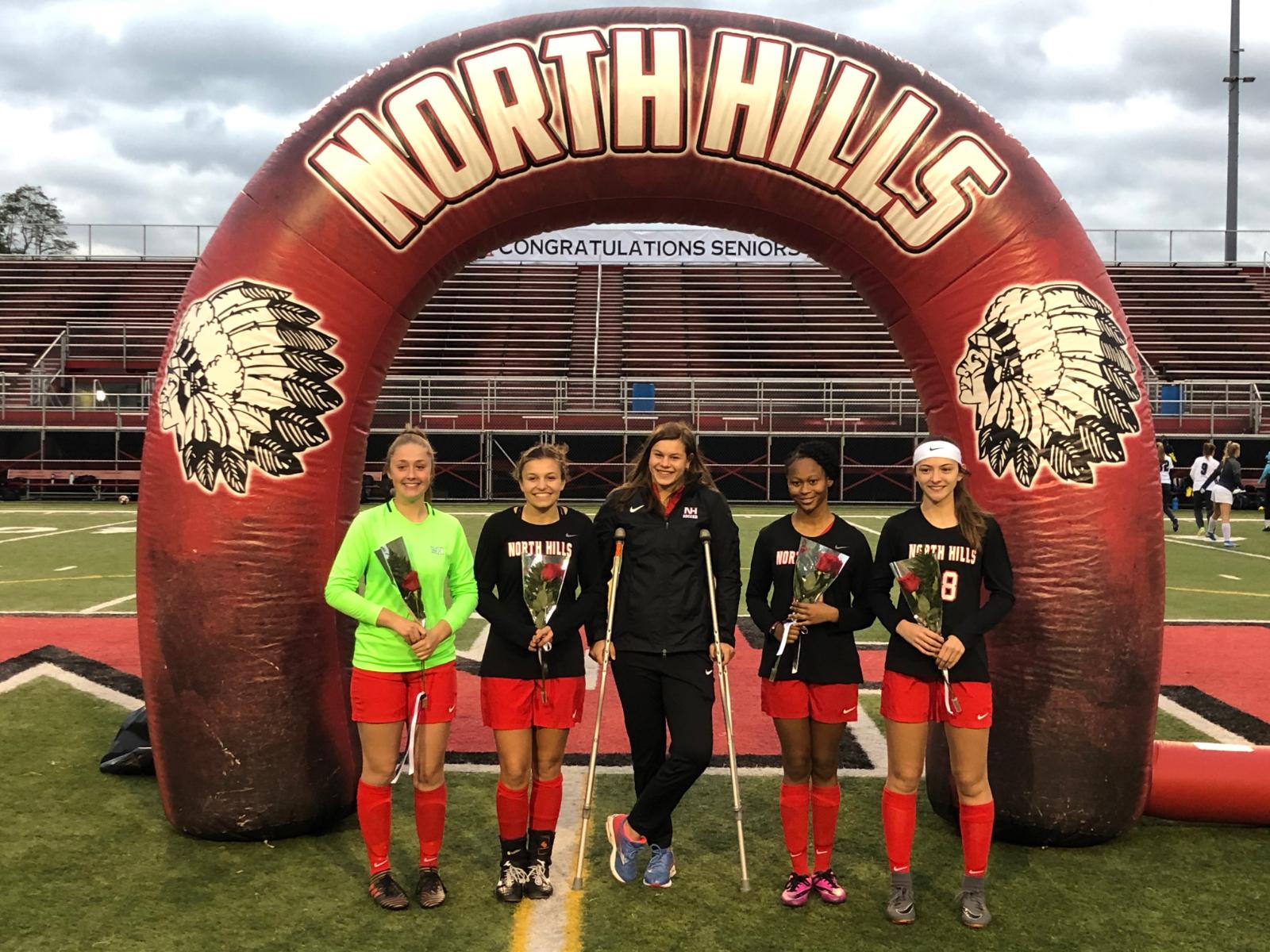 Congratulations Girls Soccer Seniors