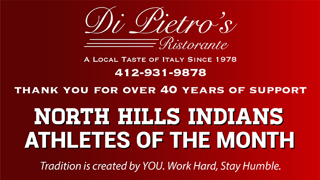 Time to cast your Vote for January's Athletes of the Month- Sponsored by DiPietro's!