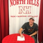 Congratulations to Ronnie Novosedliak on Signing his National Letter of Intent!