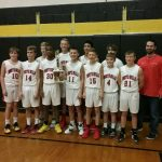 Boys 7th Grade Basketball Wins NA GOLD Tournament with 29-21 Victory Against NA Ingomar