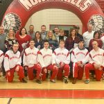 Wrestling finishes strong on Senior night